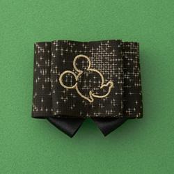 ミッキー/奄美の自然の中で生まれた、本場奄美大島紬のブローチ
